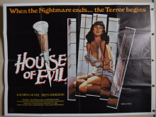 House of Evil Horror Poster - UK Quad